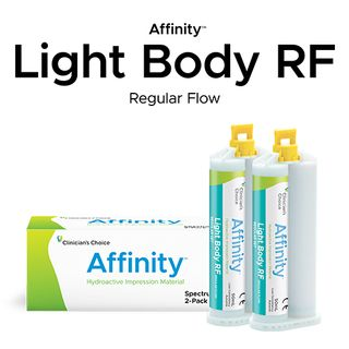 AFFINITY LIGHT BODY RF REG TWIN PACK 2x50ml
