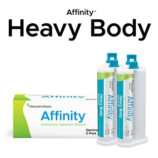 AFFINITY HEAVY BODY FAST TWIN PACK 2x50ml