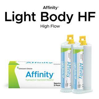 AFFINITY LIGHT BODY HF REG TWIN PACK 2x50ml