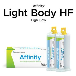 AFFINITY LIGHT BODY HF FAST SET TWIN PACK 2x50ml