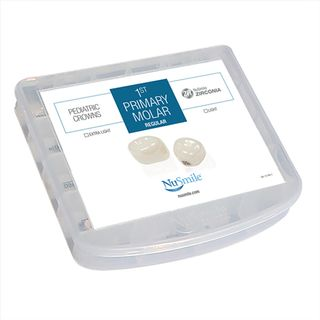 NUSMILE ZR 1ST PRIMARY MOLAR CROWNS EVALUATION KIT - LIGHT
