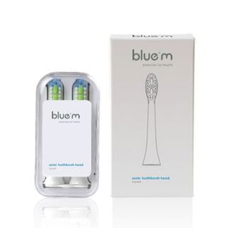 BLUE M SONIC TOOTHBRUSH HEAD (2 pc)