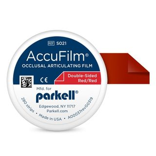 ACCUFILM II RED/RED DOUBLE SIDED