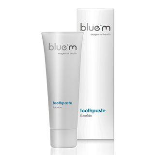 BLUE M TOOTHPASTE w CALCIUM FLUORIDE 75ml