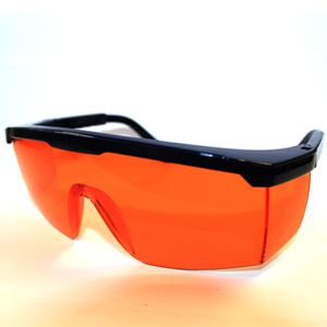 PROTECTIVE EYE GOGGLES (ORANGE)