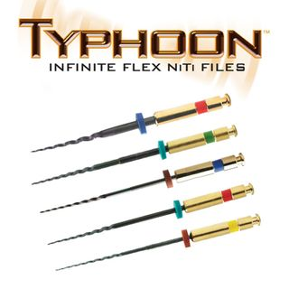 TYPHOON FLEX NiTi ENDO FILE 25/.04 21mm