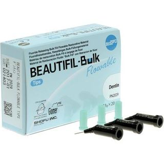 BEAUTIFIL BULK FLOWABLE TIPS DENTIN COMPOSITE