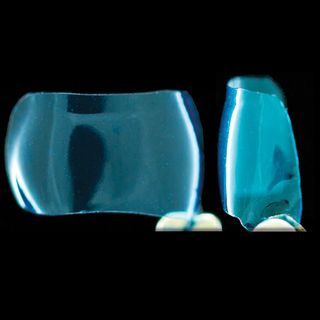 BLUE AVERAGE FLAT MOLAR 6mm MATRICES (25)