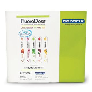 FLUORODOSE 5 FLAVOUR MIXED PACK FLUORIDE VARNISH 40 PIECE