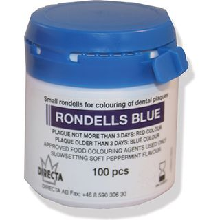 DISCLOSING PELLETS RONDELL BLUE