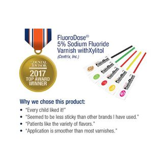 FLUORODOSE MINT FLUORIDE VARNISH 120 PACK