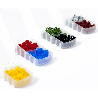COLOUR CODE RINGS ASSORTED