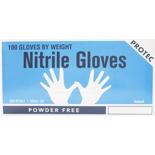 PROTEC NITRILE POWDER FREE GLOVES LARGE