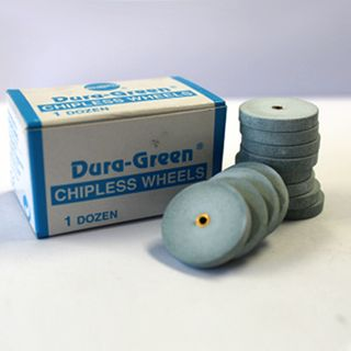 DURA GREEN CHIPLESS WHEEL UNMOUNTED 8