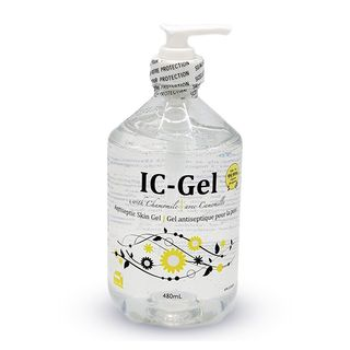 IC GEL HAND SANITYZER 480ML