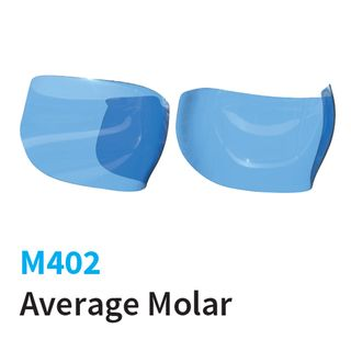 BLUE AVERAGE MOLAR 6.5mm MATRICES (25)