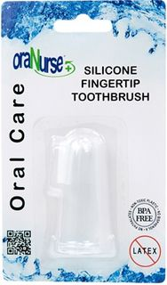 ORANURSE SILICONE FINGERTIP BRUSH