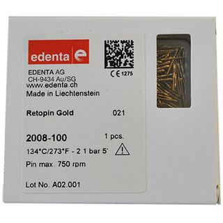 RETOPIN GOLD 021 REFILL EDENTA RED (100)