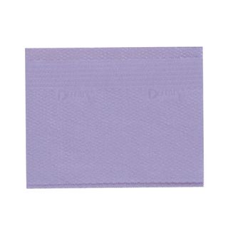 DEFEND PLUS PATIENT BIBS LAVENDER 2/TISSUE + 1/POLY 500/CS