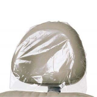 "HEADREST SLEEVE 9.5"" X 14"" ( 24 x 35.5 cm)CLEAR 250/BX"