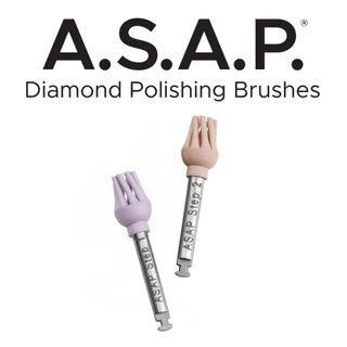 A.S.A.P DIAMOND BRUSH PRE- POLISHER  3 PK