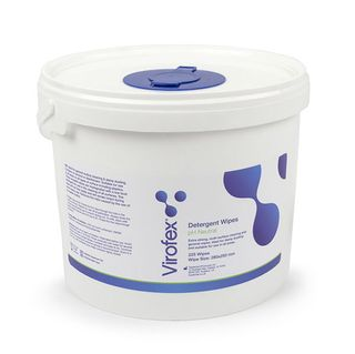 VIROFEX PH NEUTRAL DETERGENT WIPES TUB OF 225