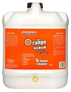 * ORANGE SCRUB 20 LTR (IHOS20) W/PUMP