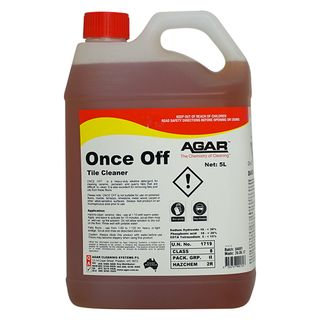 ONCE-OFF ULTRA STRENGTH TILE CLEANER 5L