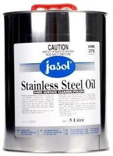 (J) STAINLESS STEEL OIL 5 LITRE (205162)