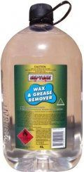 WAX & GREASE REMOVER 4 LITRE (ASWG4)
