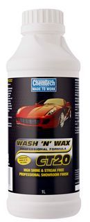 CHEMTECH CT20 WASH N WAX 1L