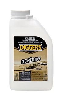 ACETONE 500ML  (DIGGERS)