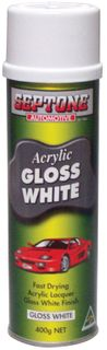 ACRYLIC GLOSS WHITE 400GM (AAGW400)