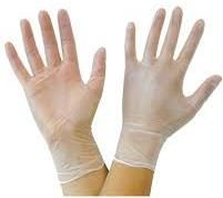 DISPOSABLE VINYL GLOVES - X-LGE CTN 1000