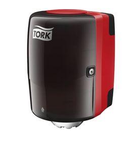 TORK DISPENSER CENTREFEED M2 RED/BLACK