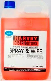 HARVEY SPRAY & WIPE PLUS 5L  2033412