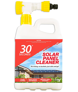 30 SECONDS SOLAR PANEL CLEANER 2L