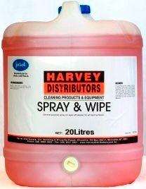 HARVEY SPRAY & WIPE PLUS 20L 2034851