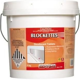 *DISC**HARVEY DEODORANT BLOCKS 10 kg