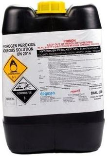 (J) HYDROGEN PEROXIDE 50% 25L (206174)