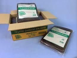 GARBAGE BAGS 73L CTN 500 BLACK(73BINBLK)
