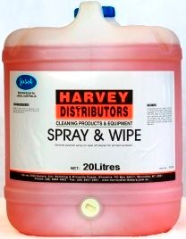 HARVEY SPRAY & WIPE PLUS 20L 2034851