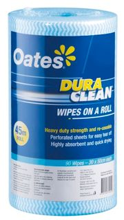 DURAWIPES ROLL 45M/90 BLUE HW030B