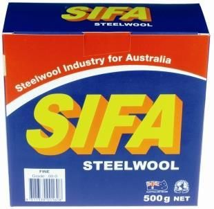 STEEL WOOL FINE (00-0) 500gm
