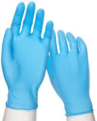 BLUE LATEX GLOVES MEDIUM CTN 1000