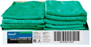 MICROFIBRE CLOTH GREEN 40X40 EA MF020G
