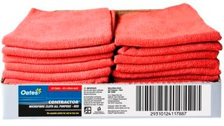 MICROFIBRE CLOTH RED 40X40 EA MF020R