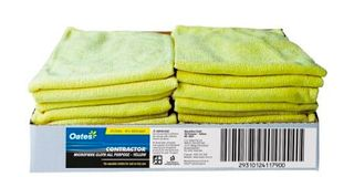 MICROFIBRE CLOTH YELL 40X40 EA MF020Y