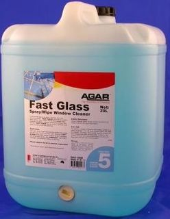 FAST GLASS GLASS CLEANER AGAR 20 LITRE