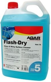 FLASH DRY GLASS CLEANER 5LT